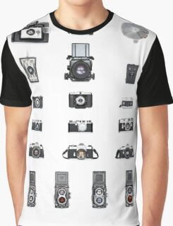 Cameras Collection Graphic T-Shirt