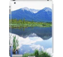 Vermillion Lakes Reflection iPad Case/Skin