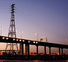 Bolte Bridge in colour by Anthony Cook