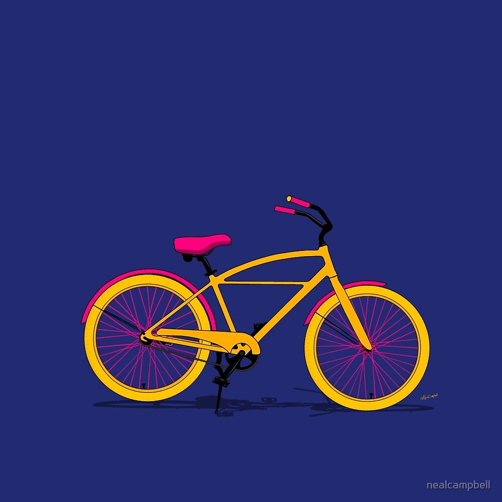 Happy Bike by nealcampbell