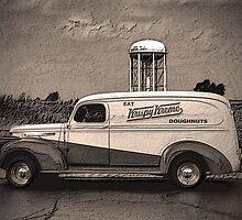 "1941 GMC Panel Truck ""Krispy Kreme Doughnuts"" by TeeMack"