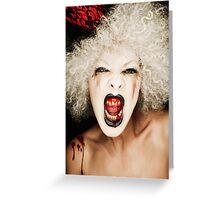 Le Cirque Du Vampire Greeting Card