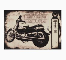 Harley Davidson Motor Cycles by Bill Cannon