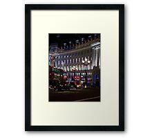 London Night Reflections Framed Print