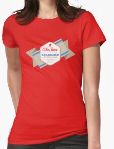 I'm on a Sandworm Womens Fitted T-Shirt