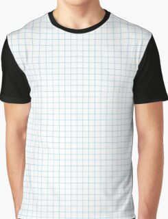 Graph Paper Graphic T-Shirt