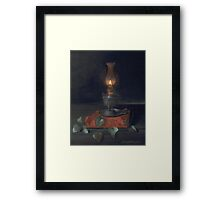Darkness Like Morning Framed Print