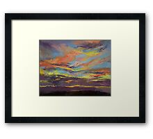 Atahualpa Sunset Framed Print