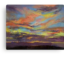 Atahualpa Sunset Canvas Print