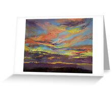 Atahualpa Sunset Greeting Card