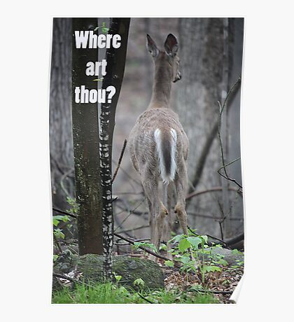 Where art thou? Poster