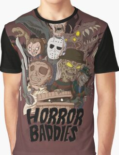 Horror Baddies Graphic T-Shirt