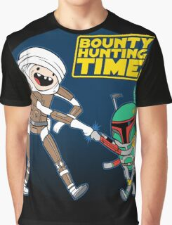 Bounty Hunting Time Graphic T-Shirt