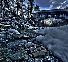 Cold creek bridge by EmanuelAZ