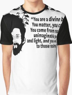 Terence Mckenna Graphic T-Shirt
