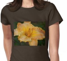 Gold day lily Womens Fitted T-Shirt