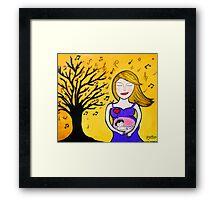 Mother Music  Framed Print