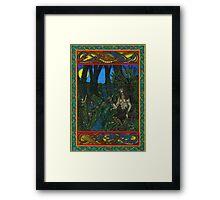 Pan and the Fairys  Framed Print