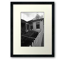 Beechworth Streetscape, North East Victoria Framed Print