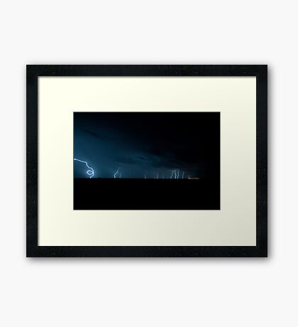 WINTON CARNAGE  Framed Print