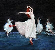 The Red Shoes by Mike Paget