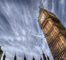 Big Ben @ 11AM by Kristian Bell