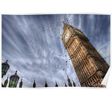 Big Ben @ 11AM Poster