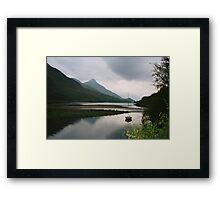 Loch Leven, Scotland Framed Print