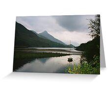 Loch Leven, Scotland Greeting Card