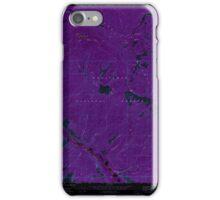 USGS Topo Map Washington State WA Brief 240228 1968 24000 Inverted iPhone Case/Skin