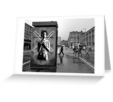 Stevenson Square, Manchester, UK Greeting Card
