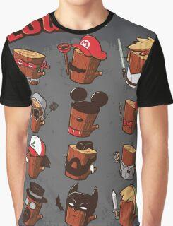 Log Graphic T-Shirt