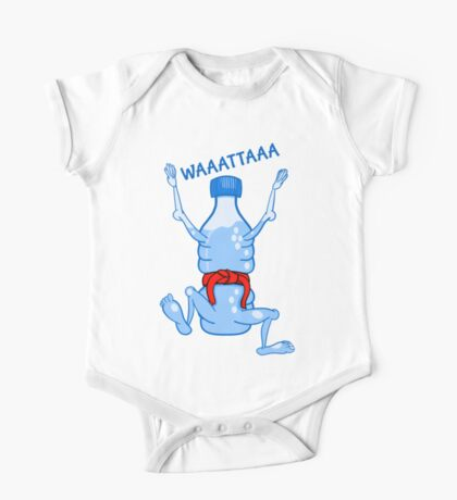 Water Bottle Karate One Piece - Short Sleeve