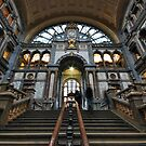 Antwerp, railway station by Adri  Padmos