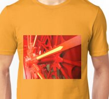 Red Gears On The Avery Unisex T-Shirt