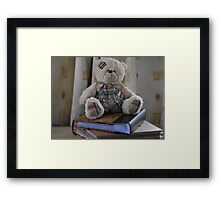 Clever ted Framed Print