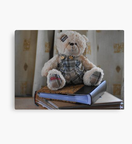 Clever ted Canvas Print