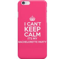 Bachelorette Party iPhone Case/Skin