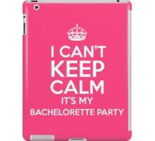 Bachelorette Party iPad Case/Skin