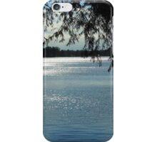 Sparkles On Willow Beach Lake iPhone Case/Skin