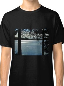 Sparkles On Willow Beach Lake Classic T-Shirt