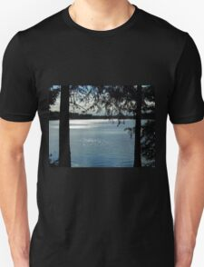 Sparkles On Willow Beach Lake T-Shirt