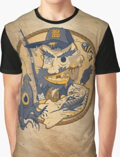 Sea Dog Graphic T-Shirt