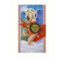 Celtic pride Art Print