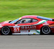 AF Corse Ferrari No 61 by Willie Jackson
