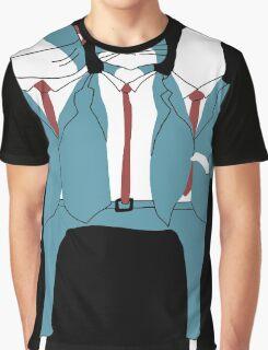 Shark Cat Albatross Graphic T-Shirt