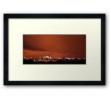 Red Sky Framed Print