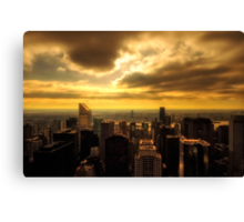 Morning Manhattan Canvas Print