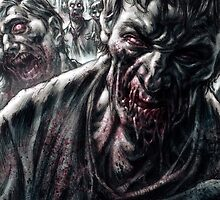Zombie Horde by Chris Wahl