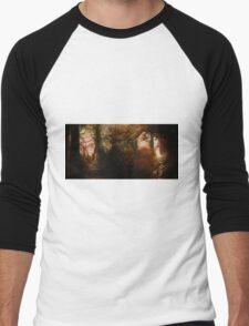The Elder Forest   Tolkien Inspired Artwork Men's Baseball ¾ T-Shirt